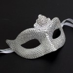 swarovski crystal masquerade mask