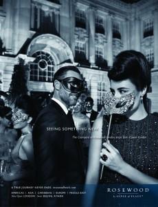 Rosewood Hotel Masquerade Masks