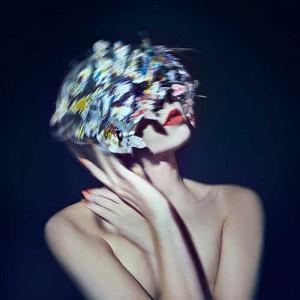 Zena Holloweay Butterfly Mask shoot