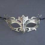Gold Metal Filigree Punto Masquerade Mask