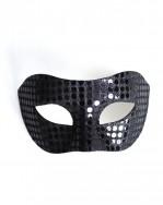 Mens Black Mirror Mask b