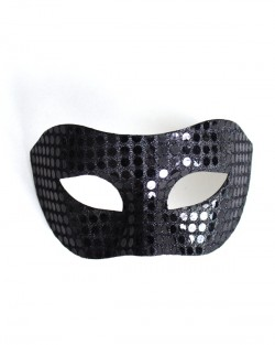 Mens Black Mirror Mask b