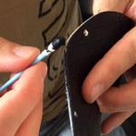leather mask edging