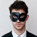 Angular Black Cutout Mask