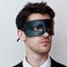 Roman Leather Eye Mask