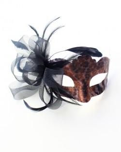 womens animal print mask