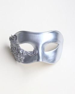 Men's Silver Lace Venetian