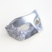 Men's Silver Lace Venetian b