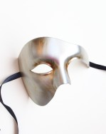 Metallic Large Phantom of the Opera Mask