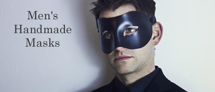 Men's Unique Designer Handmade Masquerade & Venetian Masks