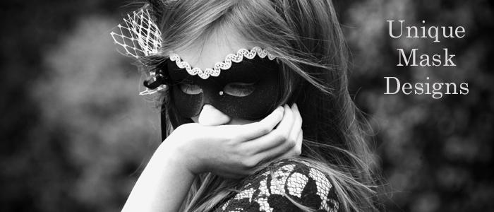 Womens Unique Handmade Designer Masquerade Masks