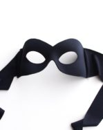 shaped female black eye mask for over glasses b