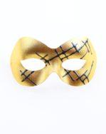 Budget Gold & Grey Modern Trendy Eye Mask