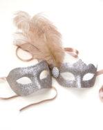 coupleskatiegoldmasquerademasks