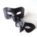 Couple's Matching Black Raven Bird Beak Leather Masquerade Masks