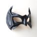 Handmade Black Leather Superhero Bat Robin Eye Mask Nightwing