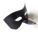 Men's Black Raven Bird Beak Leather Masquerade Masks b