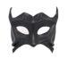 black demon devil leather masquerade mask