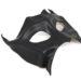 black demon devil leather masquerade mask c