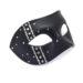 Mens Luxury Black Swarovski Crystal Bling Venetian Mask