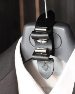 cufflink holder storage gift leather handmade
