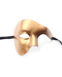 large gold phantom of the opera mask