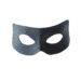 Men's Black Leather Python Snakeskin print zorro eye masquerade mask 2